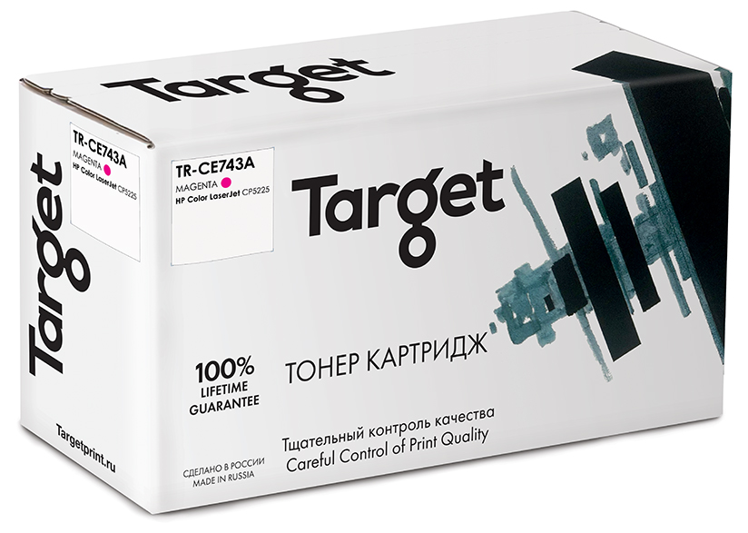 HP CE743A картридж Target