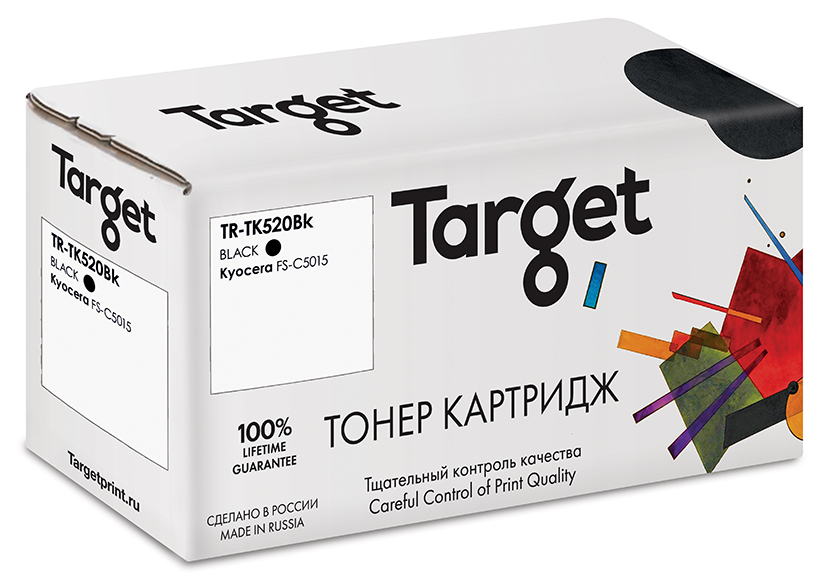 Тонер-картридж KYOCERA TK-520Bk