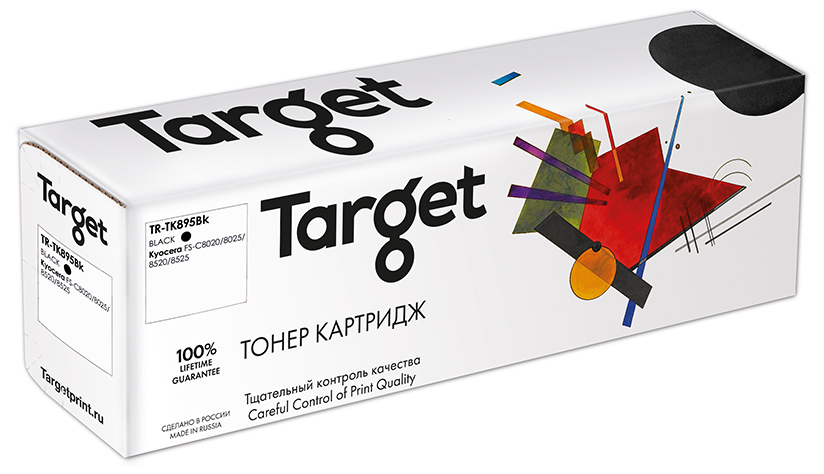KYOCERA TK-895Bk картридж Target