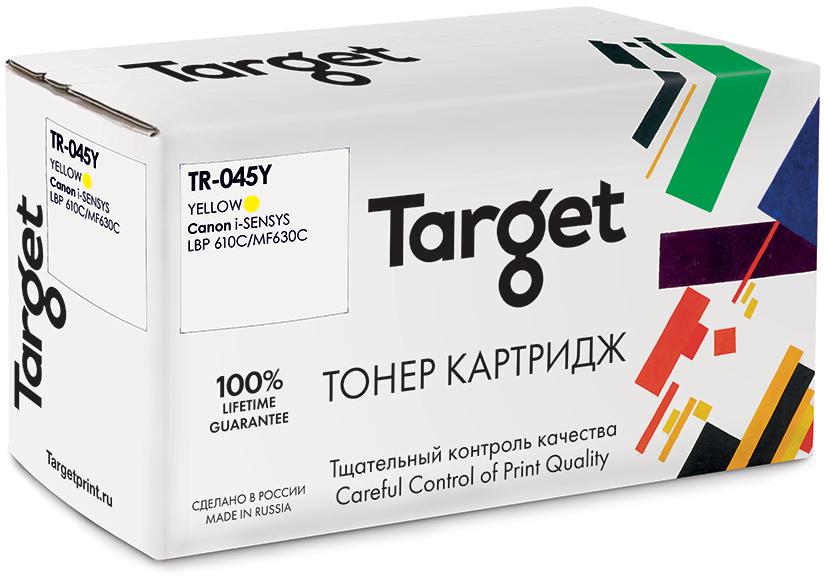 CANON 045Y картридж Target