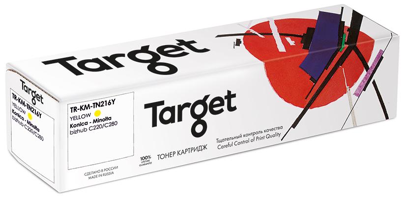 KONICA-MINOLTA KM-TN216Y картридж Target
