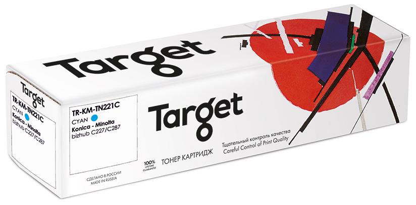 KONICA-MINOLTA KM-TN221C картридж Target