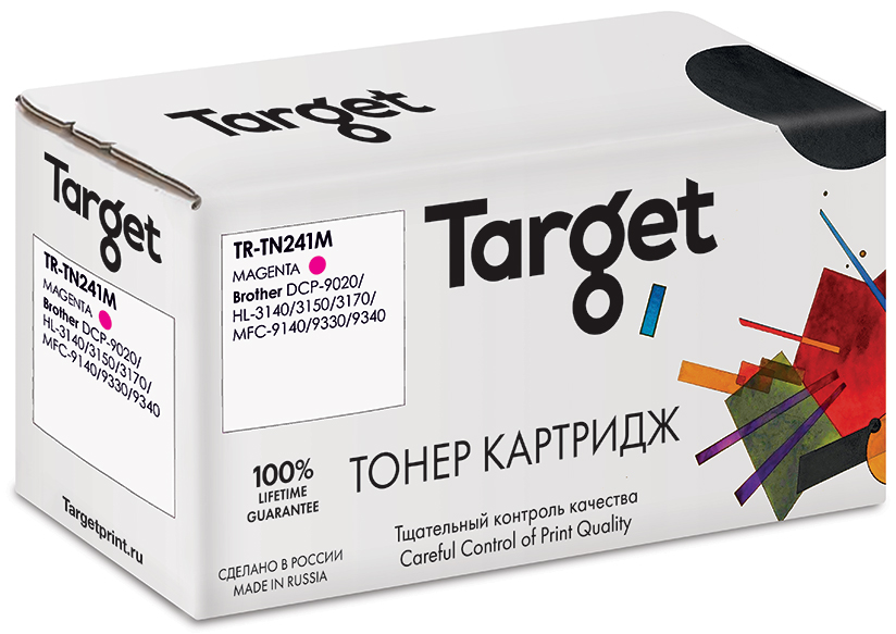 BROTHER TN241M картридж Target