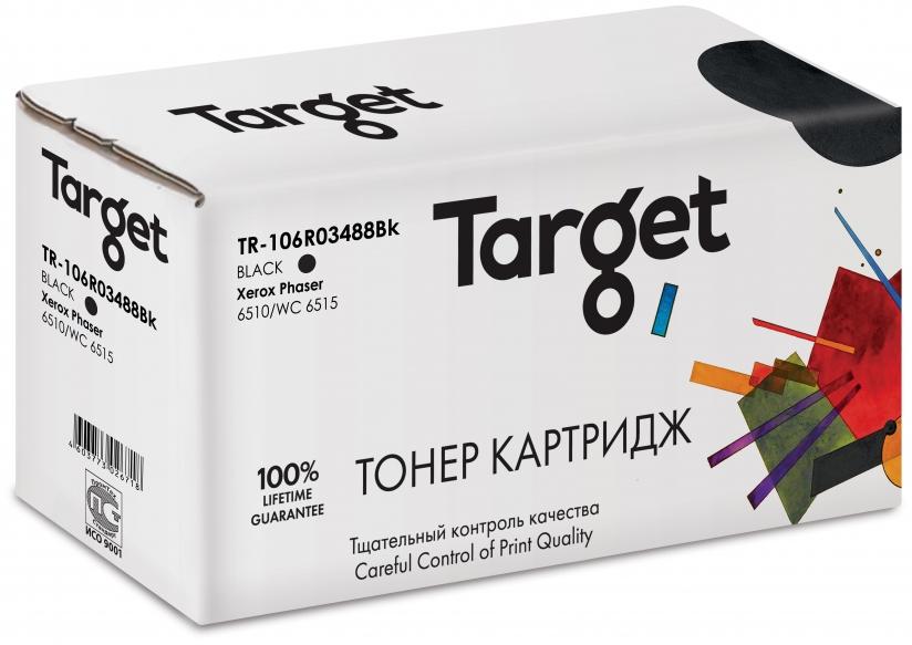 Тонер-картридж XEROX 106R03488Bk