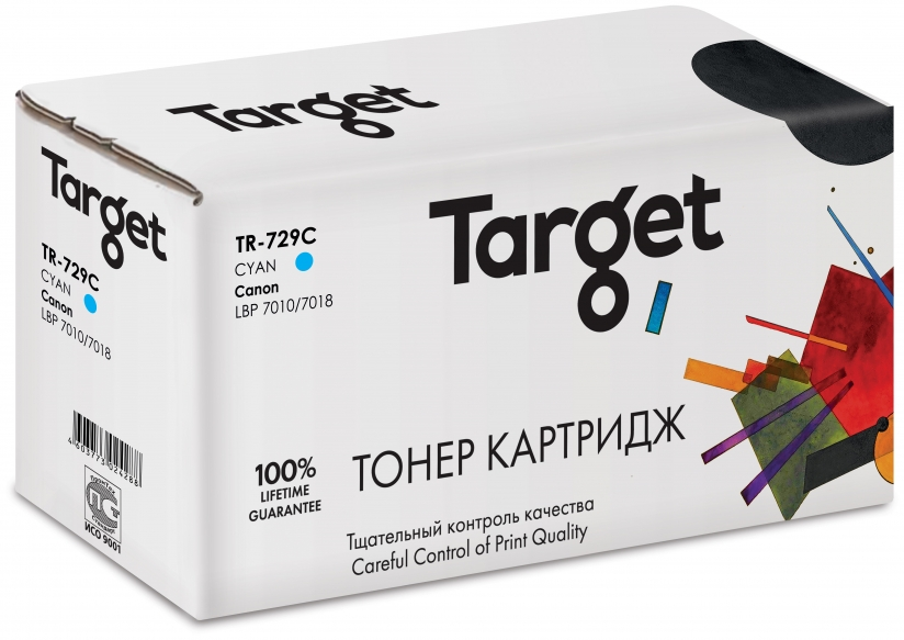 Тонер-картридж CANON 729C