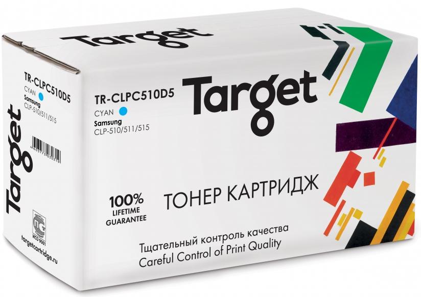 Тонер-картридж SAMSUNG CLP-C510D5