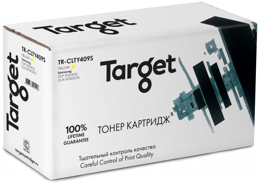 Тонер-картридж SAMSUNG CLT-Y409S