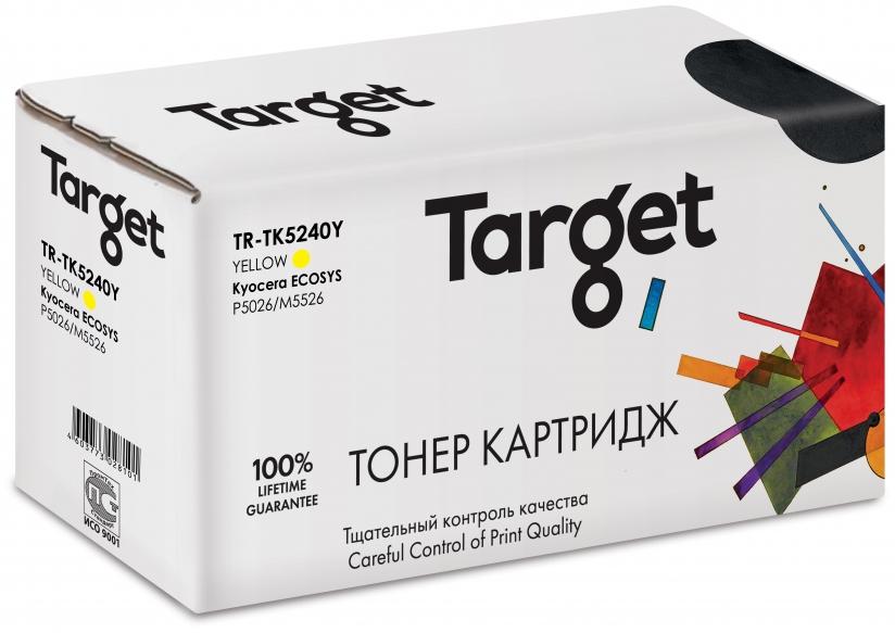 Тонер-картридж KYOCERA TK5240Y