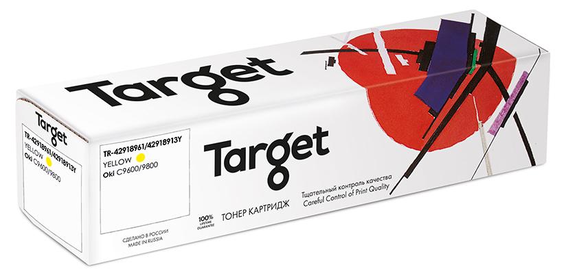 OKI 42918961/42918913Y картридж Target