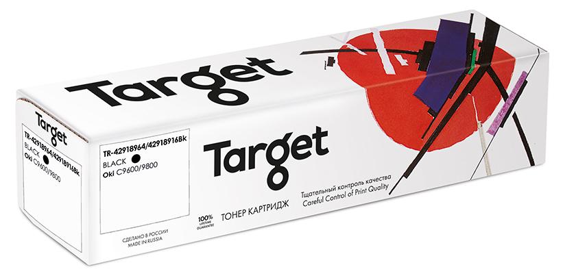 OKI 42918964/42918916Bk картридж Target