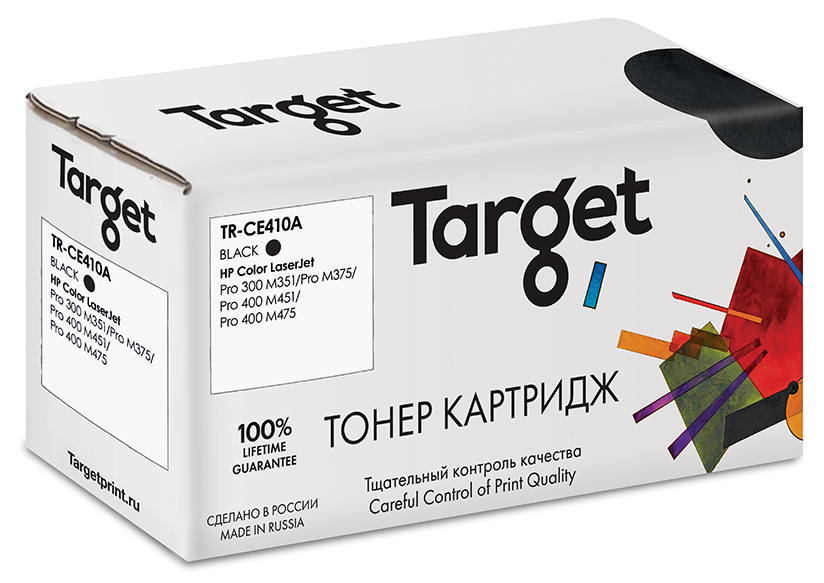 HP CE410A картридж Target