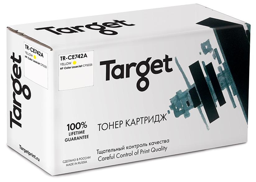HP CE742A картридж Target