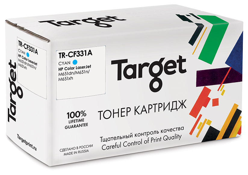 HP CF331A картридж Target
