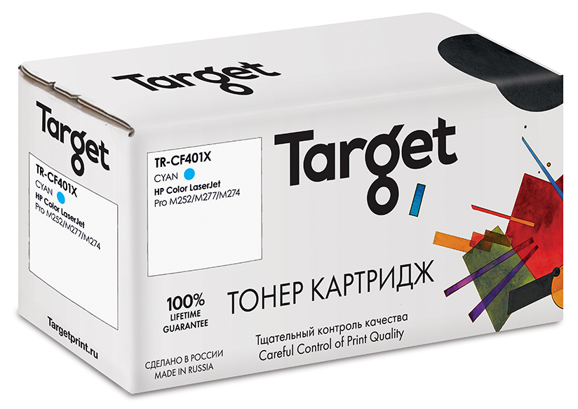 HP CF401X картридж Target
