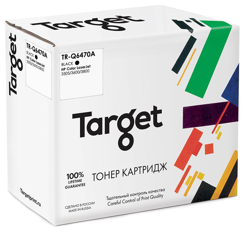 HP Q6470A картридж Target