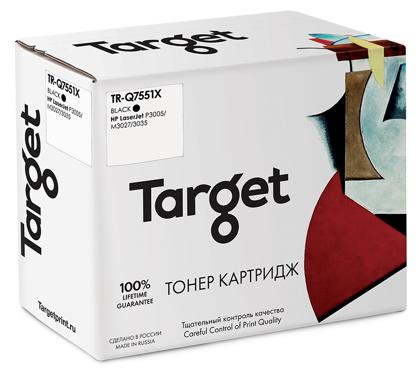 HP Q7551X картридж Target