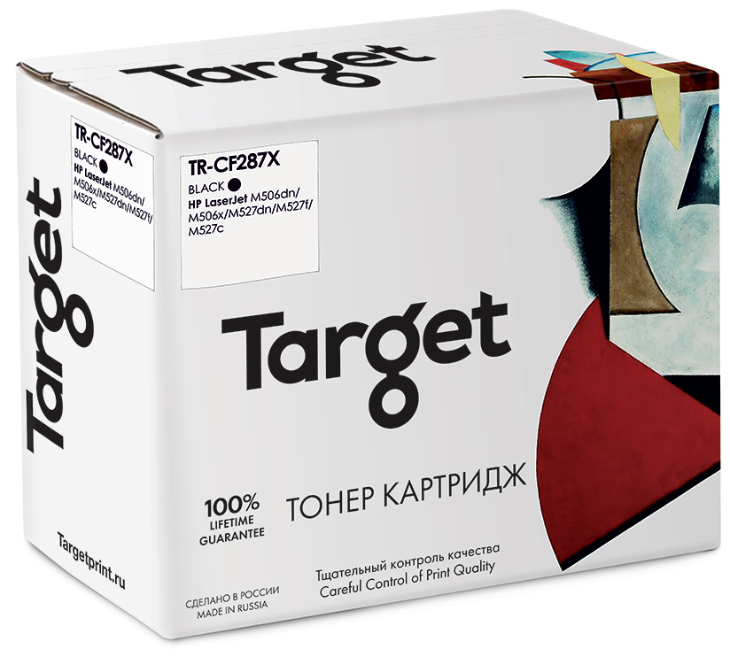 HP CF287X картридж Target