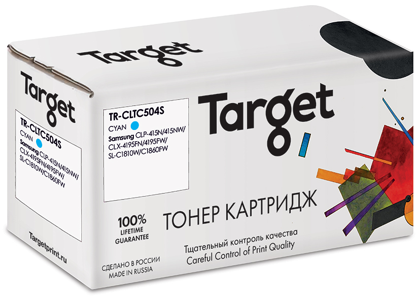 SAMSUNG CLTC504S картридж Target