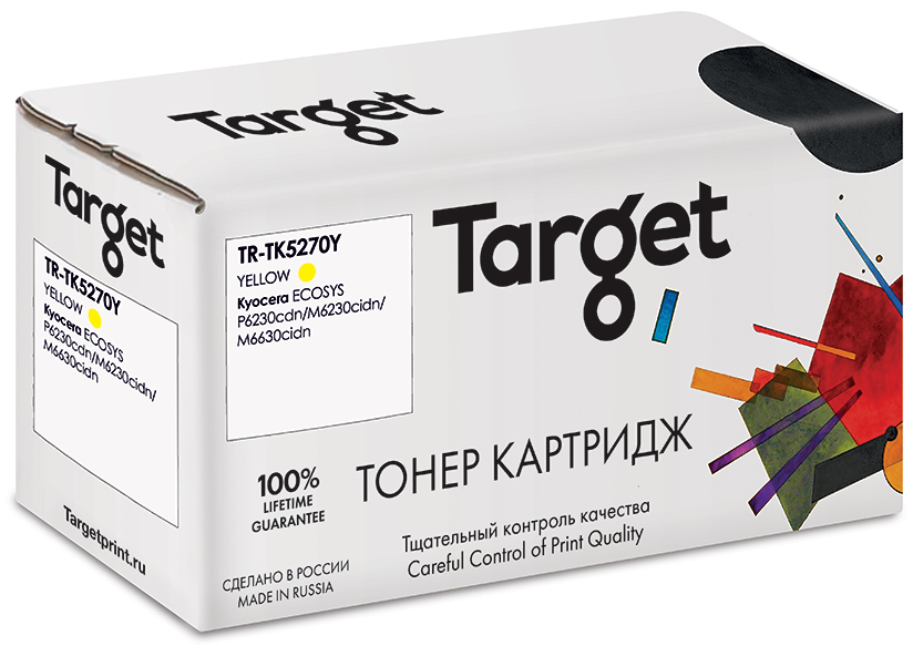 KYOCERA TK5270Y картридж Target