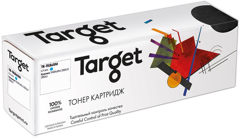 KYOCERA TK865C картридж Target